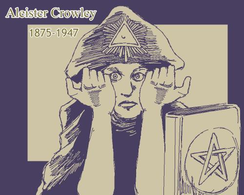 アレイスター・クロウリーのイラスト