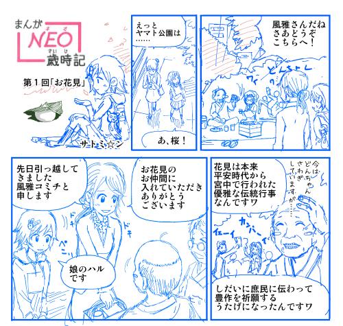 『NEO歳時記』ネーム
