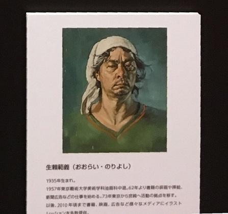 生頼範義さんの肖像