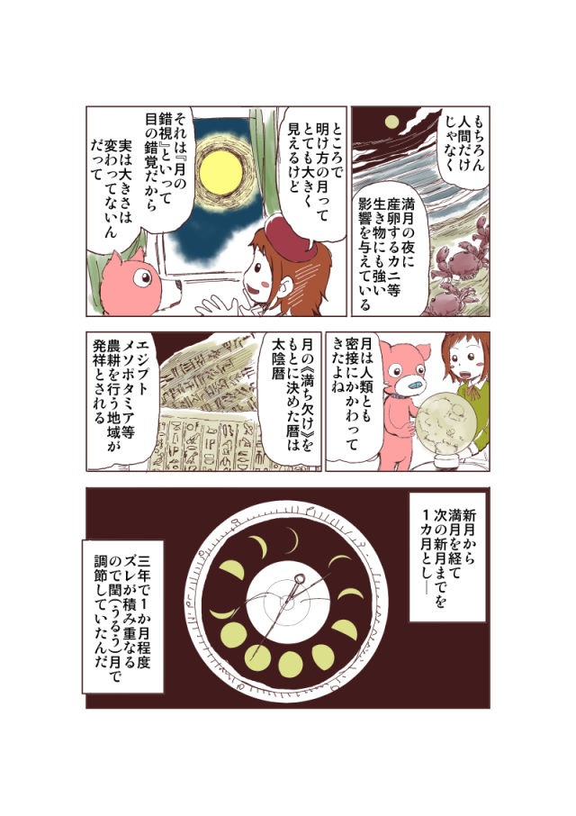 オリジナル漫画にページ目